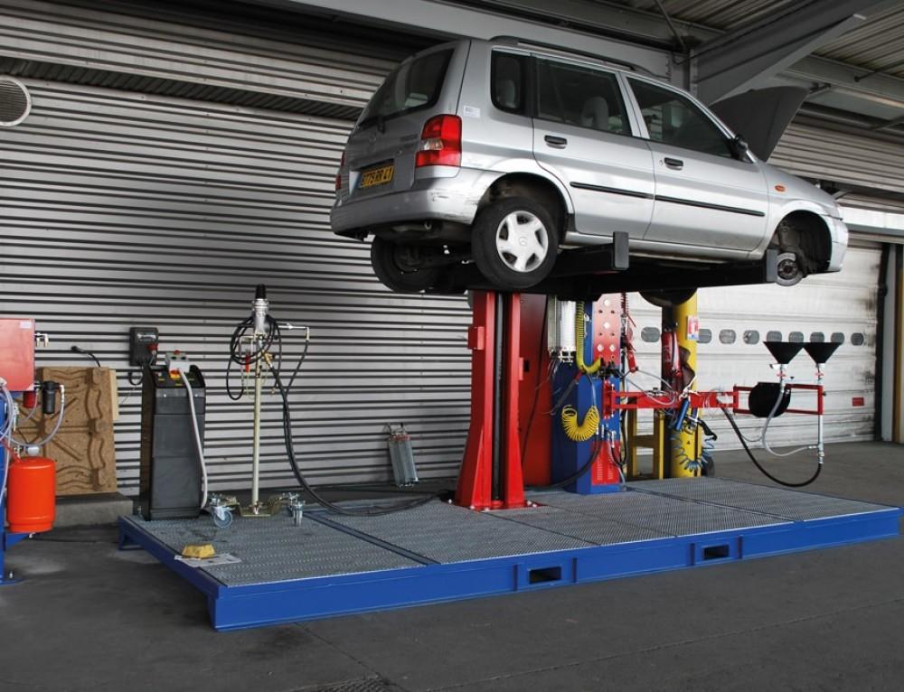 Moderne Altfahrzeugtrockenlegung mit der MDS4 Plattform