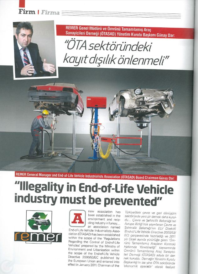 presse 2012 05 Recyling Industry TUR min - Recycling Industry May 2012