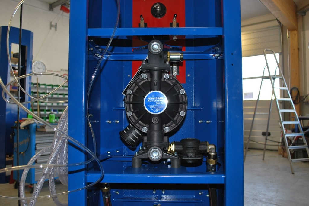 Integrated pumps