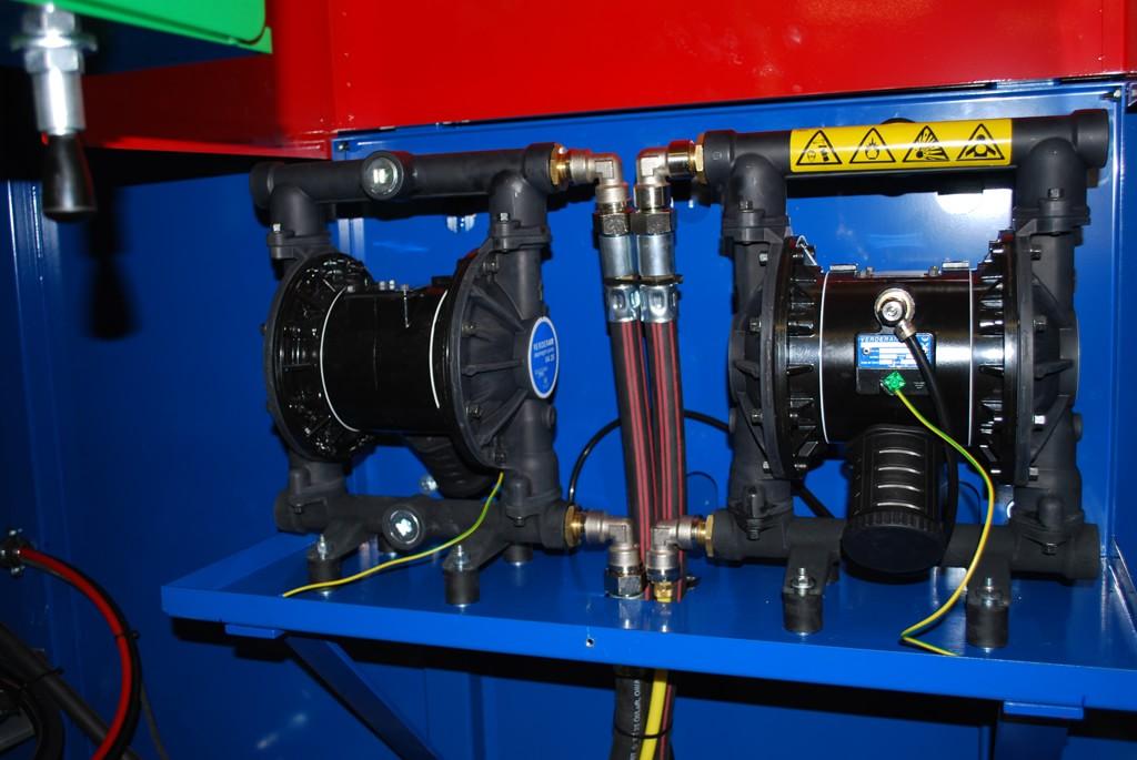 Powerful pumps