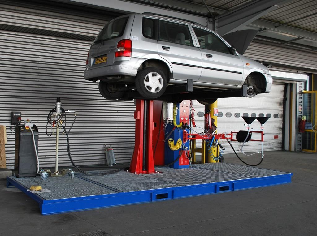 Hydraulic LiftingRamp