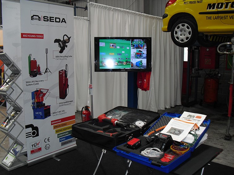 SEDA at CARS show 2014