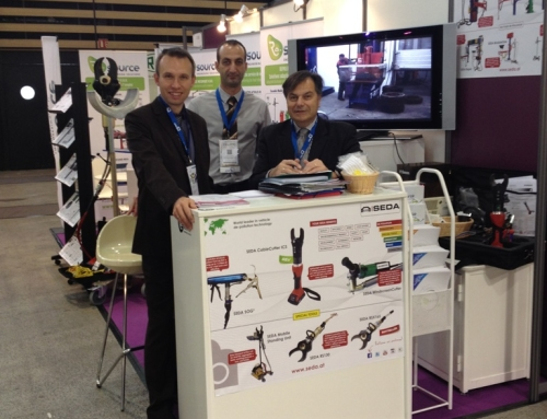 SEDA with importer Re-Source at the POLLUTEC