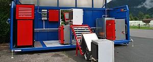 Spezialgeräte-Kühlschrank-Recycling