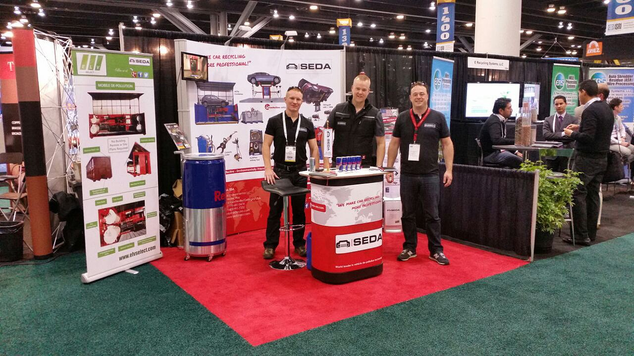 ISRI Convention 2015 in Vancouver (Kanada)