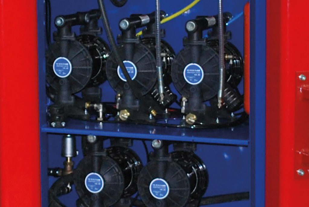 Integrated pump system