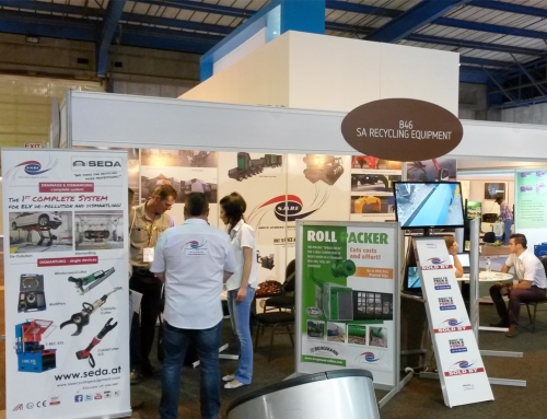 SEDA with partner S.A.R.E. at IFAT South Africa