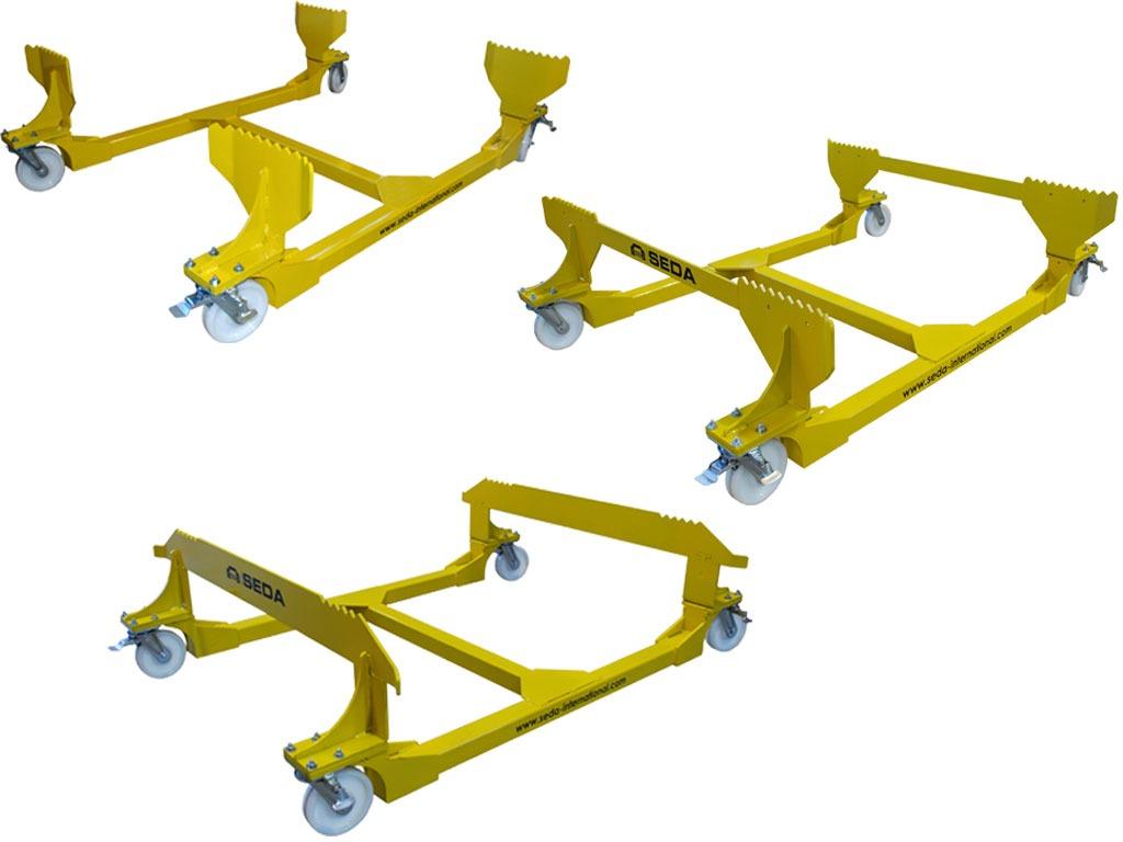 Trolley 3 Modelle web - ELV Drainage