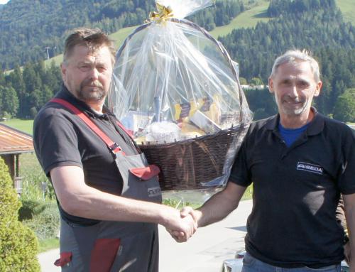 Sepp Kogl: 60th birthday and 45 years of SEDA-employee