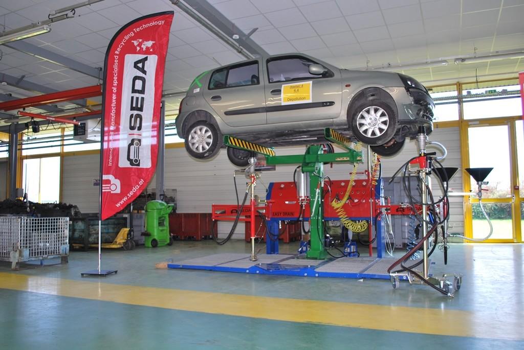 Fahrzeugtraeger 1 min - SEDA Araç Lifti