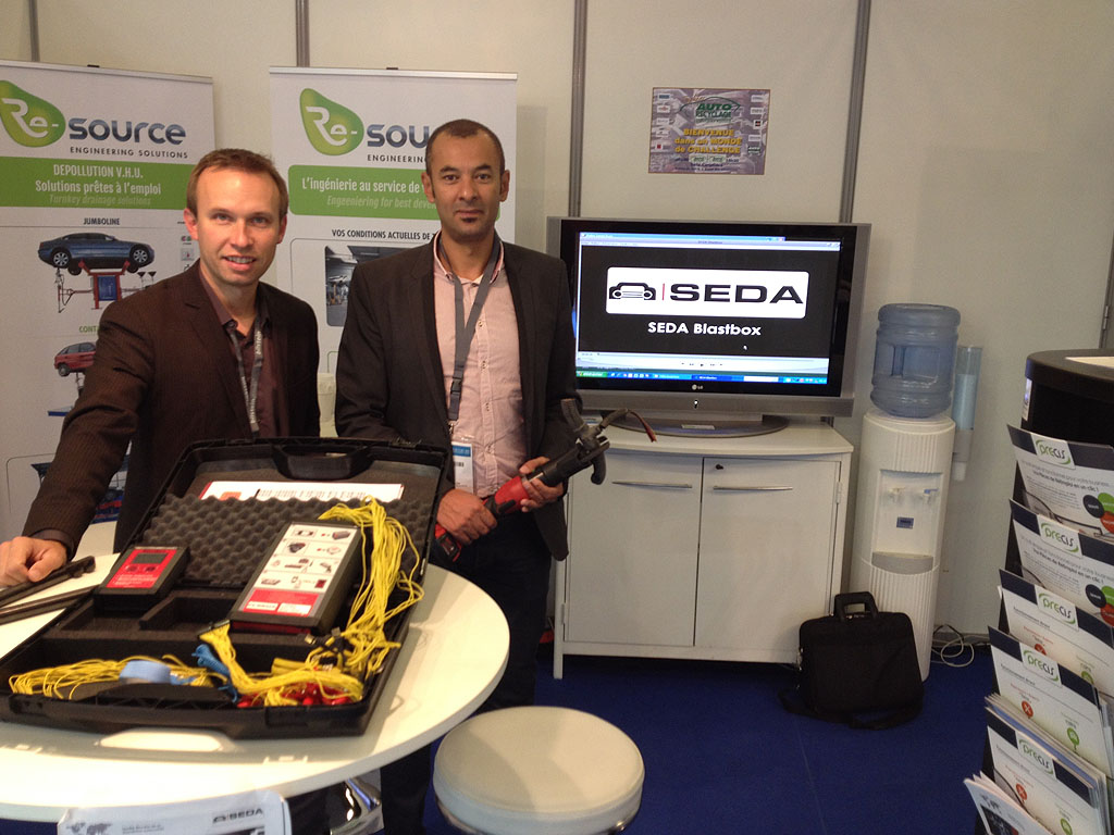 auto equip 2015 1 - Trade show duties for SEDA partner