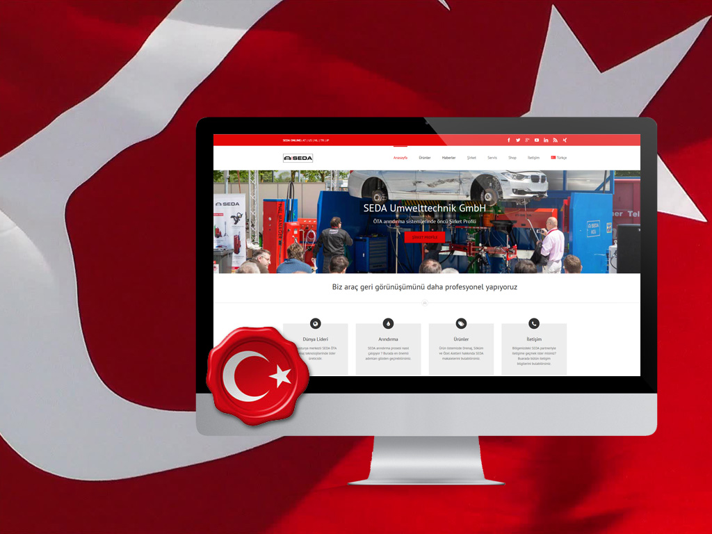 turkey website featured image - Turkish website online