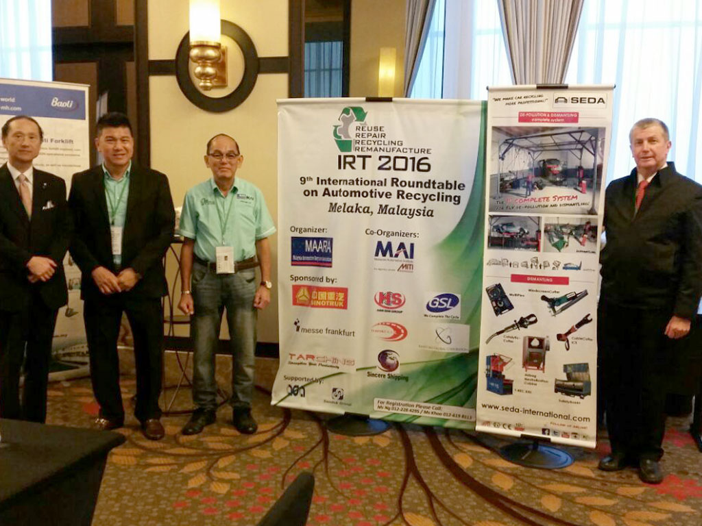Malaysia ARS 1 - SEDA with Partner AUTO RECYCLING SYSTEMS in Malaysia