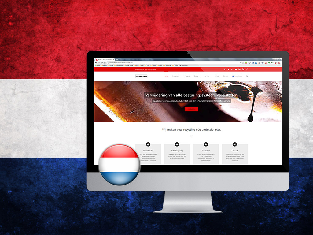 Website nu ook in het Nederlands