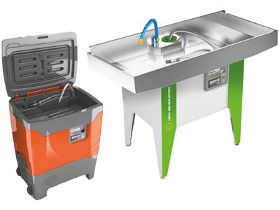 Teilewascher vorschau - SEDA Onderdelen Reiniger