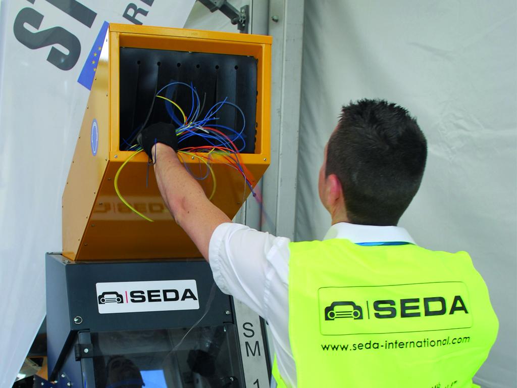 kabelschredder 1 - SEDA Kabel Shredder Stokkermill