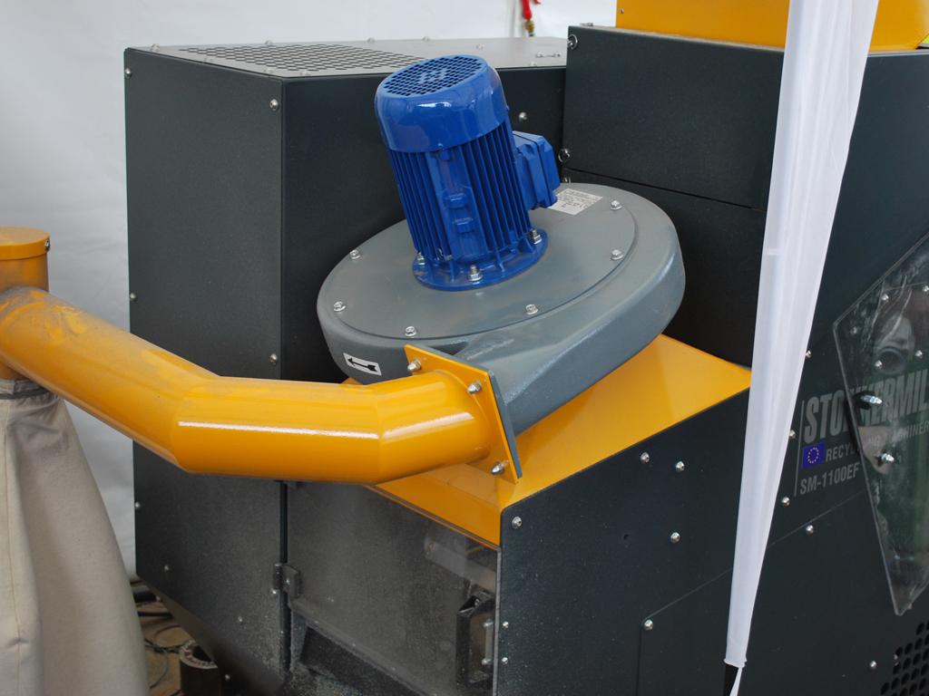 kabelschredder 2 - SEDA Kabel Shredder Stokkermill