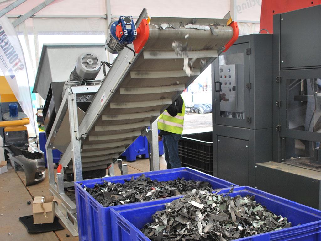 plastikschredder 1 - SEDA PlasticShredder