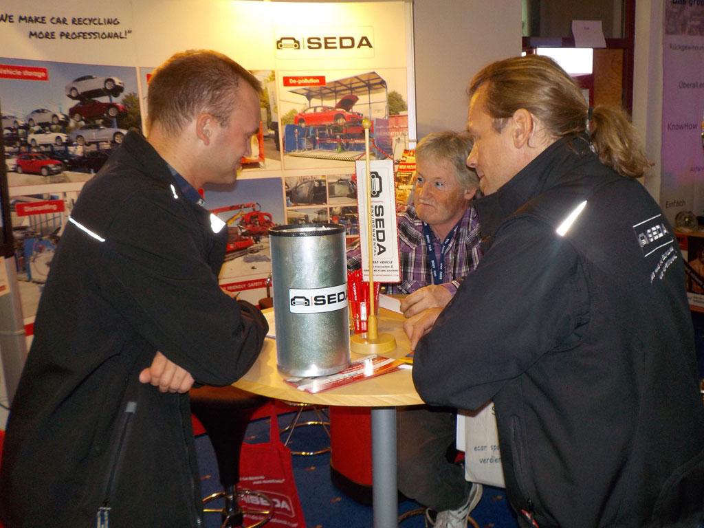 Hohenroda3 - SEDA beim 10. Treffen der deutschen Autoverwerter