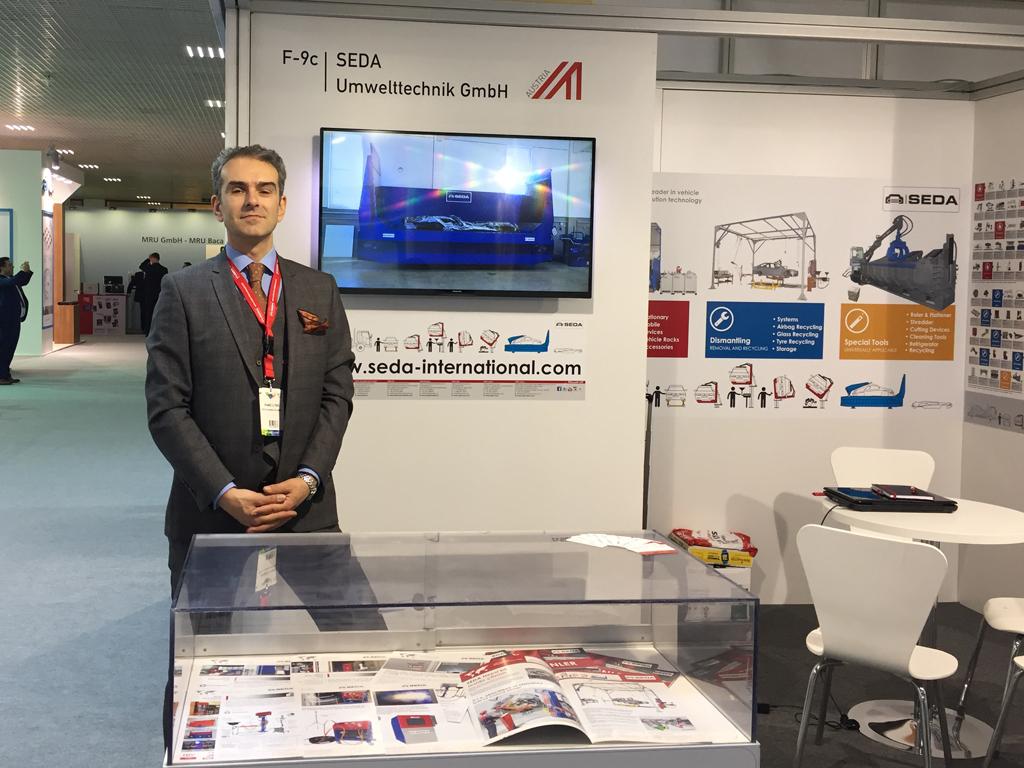 IFAT Eurasia 2017 - SEDA at the IFAT Eurasia 2017 Istanbul
