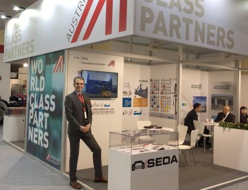SEDA, IFAT Eurasia 2017 İstanbul'da