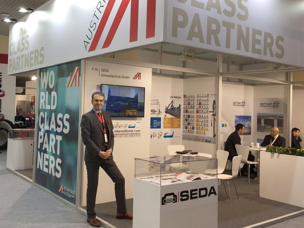 SEDA auf der IFAT Eurasia 2017 Istanbul