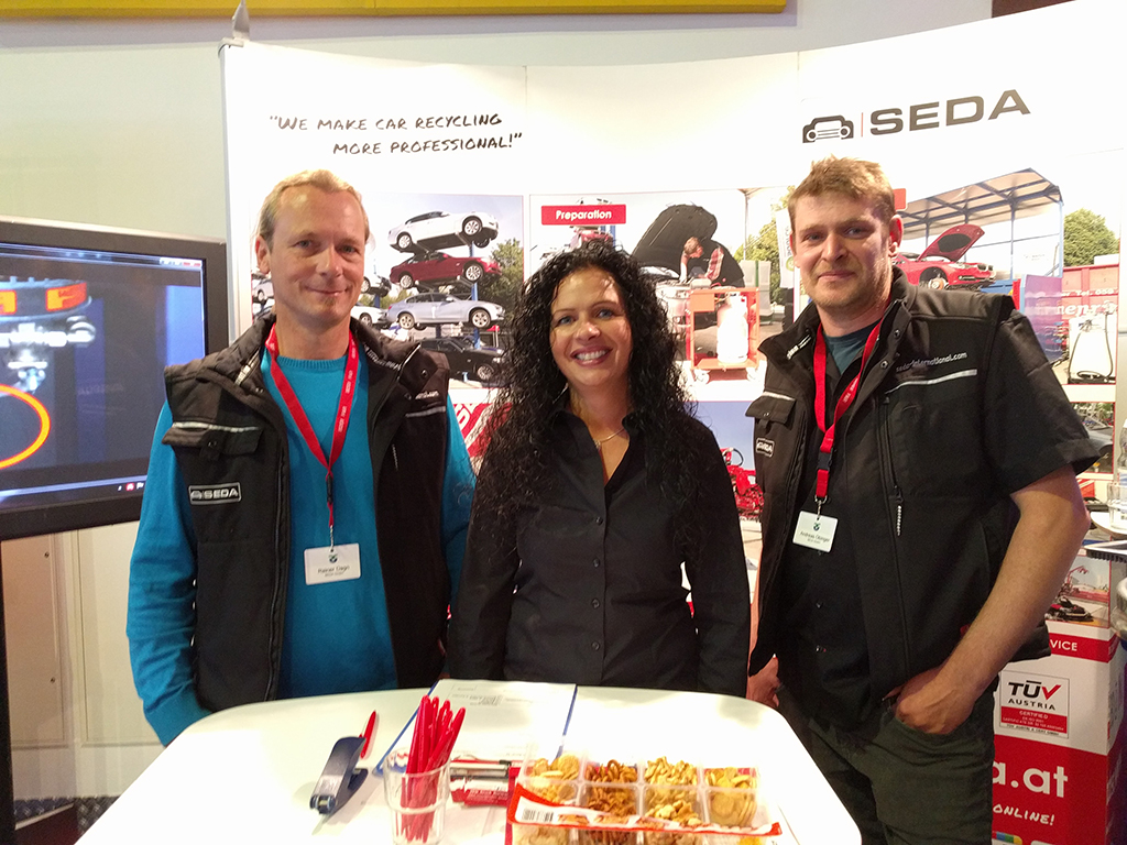 HR1 - 11th conference in Hohenroda – the meeting point for all automobile-recyclers in Germany