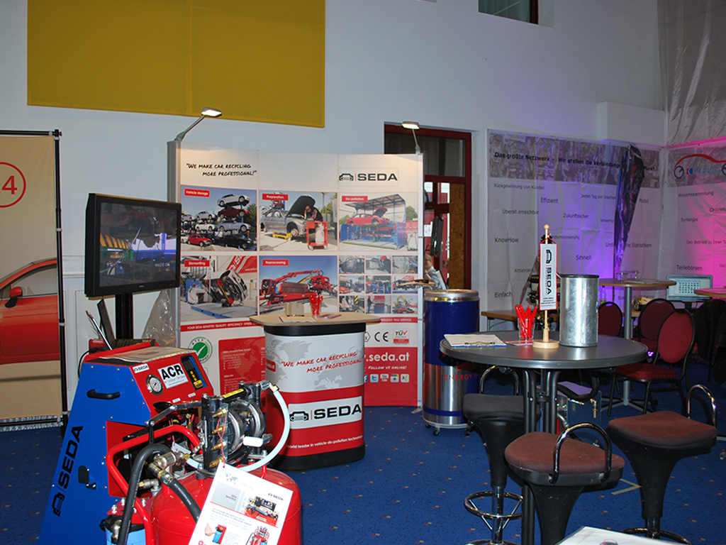 HR2 - 11th conference in Hohenroda – the meeting point for all automobile-recyclers in Germany