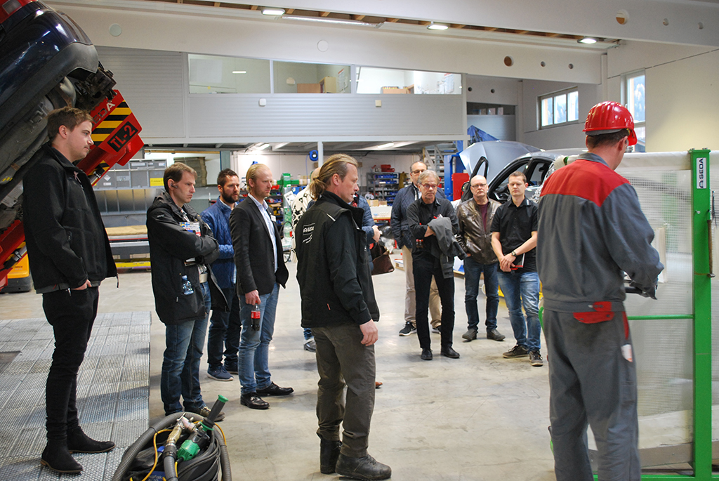 Olanders1 - Scandinavian visit to SEDA