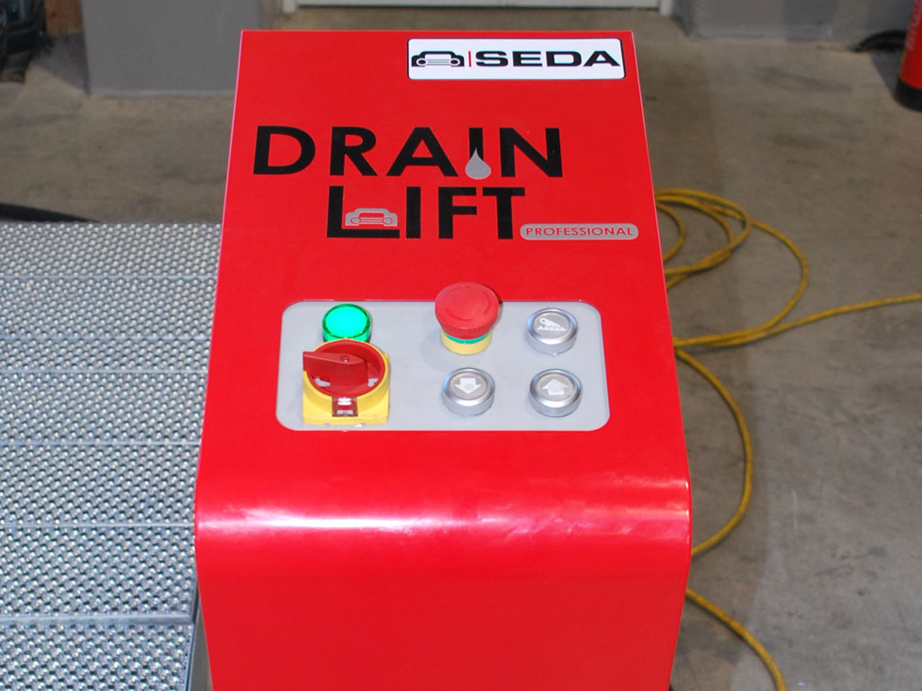 MDS8 DrainLift CONTAINER 1 - SEDA MDS8 Container DrainLift