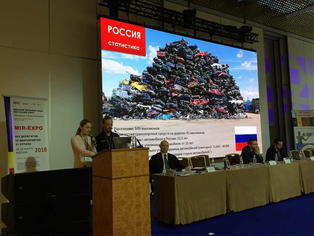 1 - 3. Eurasian Waste Electrical Electronic Equipment Solutions 2018 in Moskau