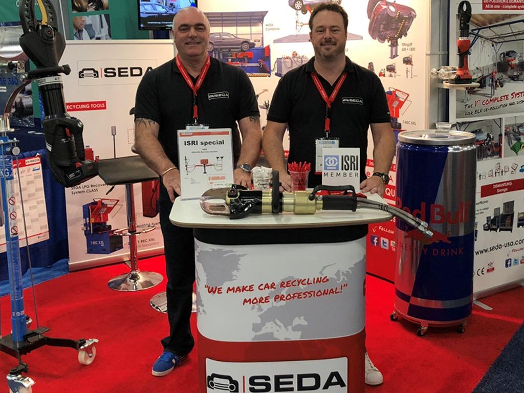 ISRI 2018 Tony bruce - SEDA at ISRI 2018 in Las Vegas