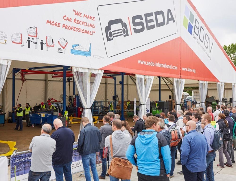 SEDA IFAT 2018'de Ö.T.A. geri dönüşümünü canlı gösterdi