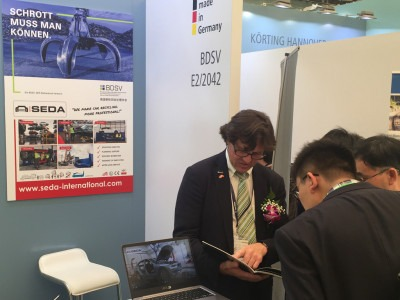 Titel1 - SEDA at the IE Expo Shanghai 2018