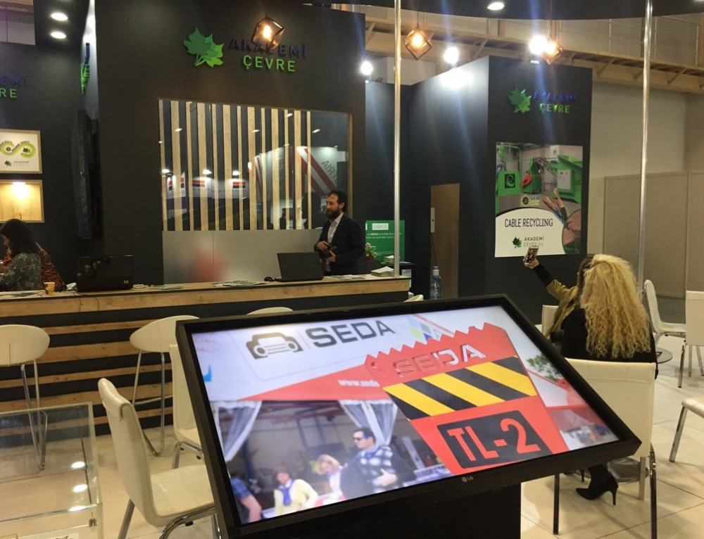 SEDA IFAT Eurasia 2019'a katıldı