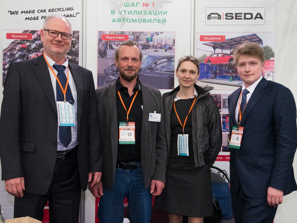 MIR 2 - SEDA Umwelttechnik at the MIR Expo 2019 in Moskow