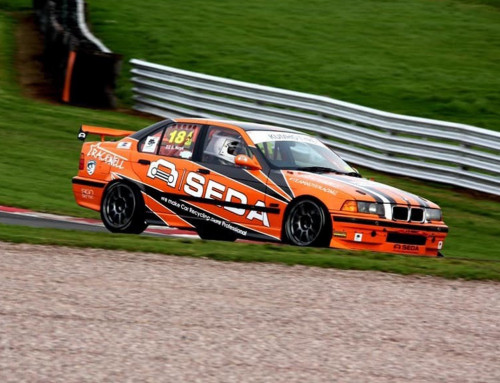 SEDA supports British race car driver Scott Noye
