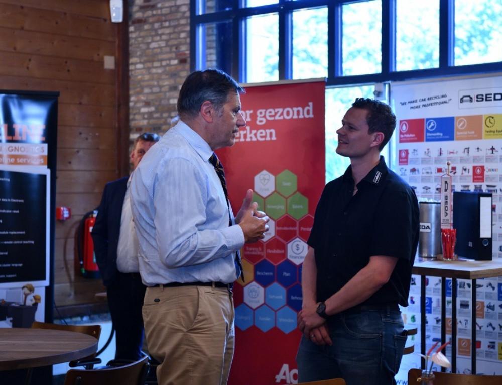 SEDA op de Stiba-ledenconferentie in Arnhem