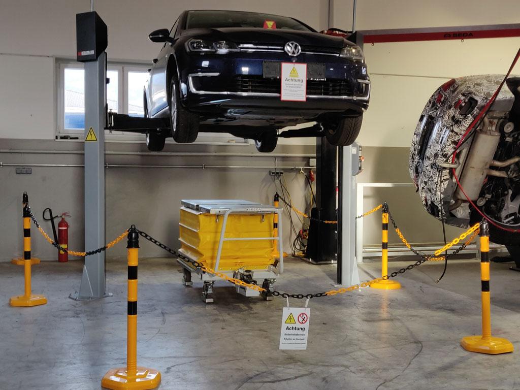 E Car System 1 - SEDA E-CAR Recycling Station