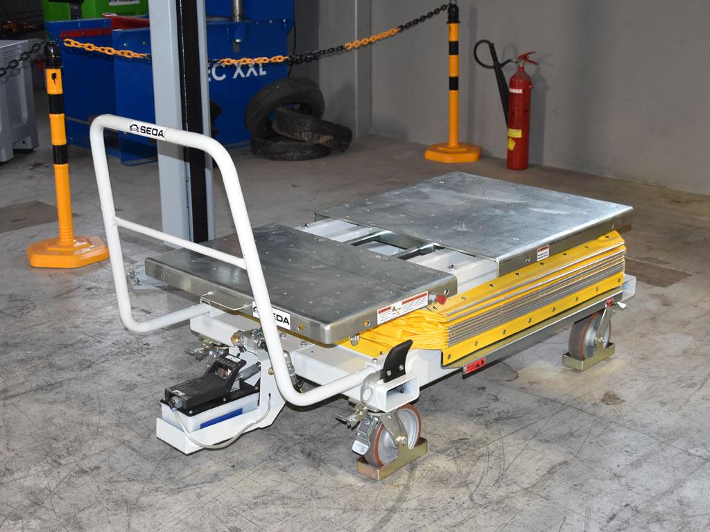 E Car System 3 - SEDA E-CAR Recycling Station