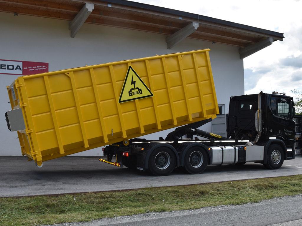 Elektro Fahrzeug Sicherheitscontainer 1 - SEDA Elektric Vehicle Safety Container