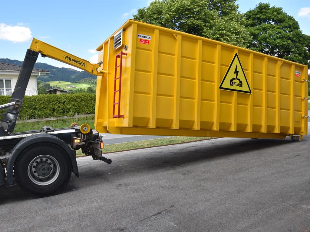 Elektro Fahrzeug Sicherheitscontainer 2 - SEDA Elektric Vehicle Safety Container