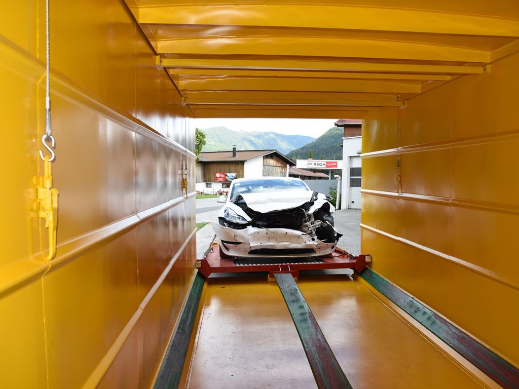 Elektro Fahrzeug Sicherheitscontainer 4 - SEDA Elektric Vehicle Safety Container