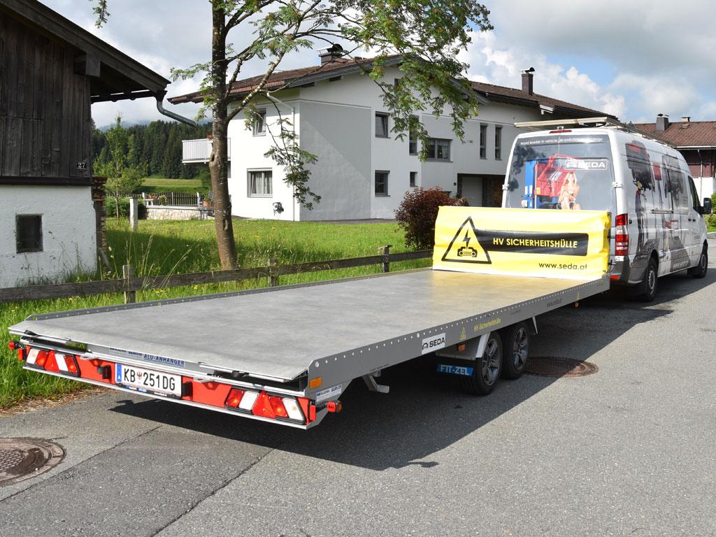 Elektro Fahrzeug Sicherheitshuelle 1 - SEDA E-CAR-Security Blanket
