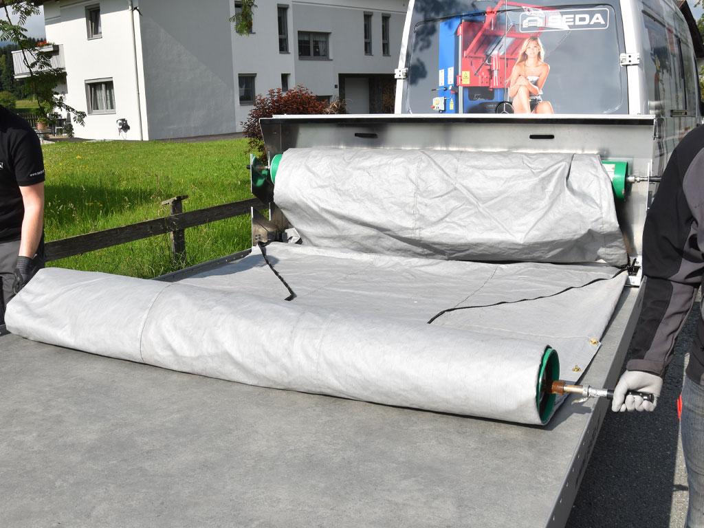 Elektro Fahrzeug Sicherheitshuelle 2 - SEDA E-CAR-Security Blanket