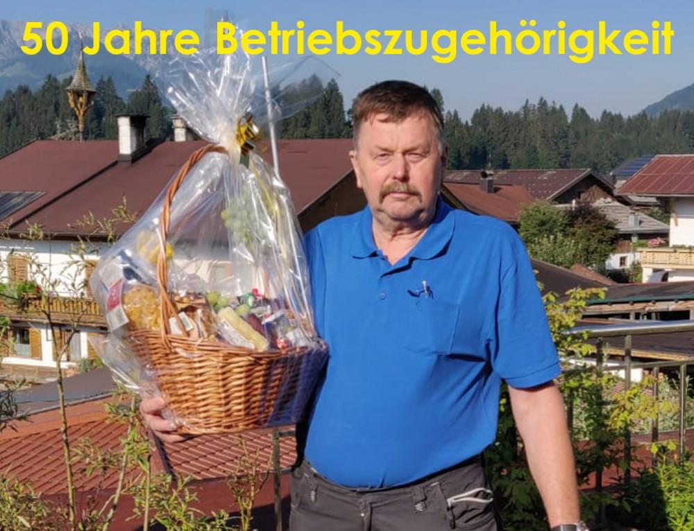 Sepp Kogl: 50 years SEDA-employee