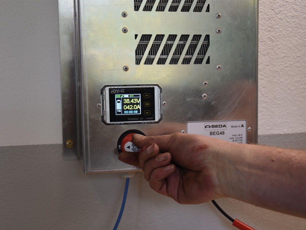 HV Baterie Entladeger.2 - SEDA HV Battery Discharger