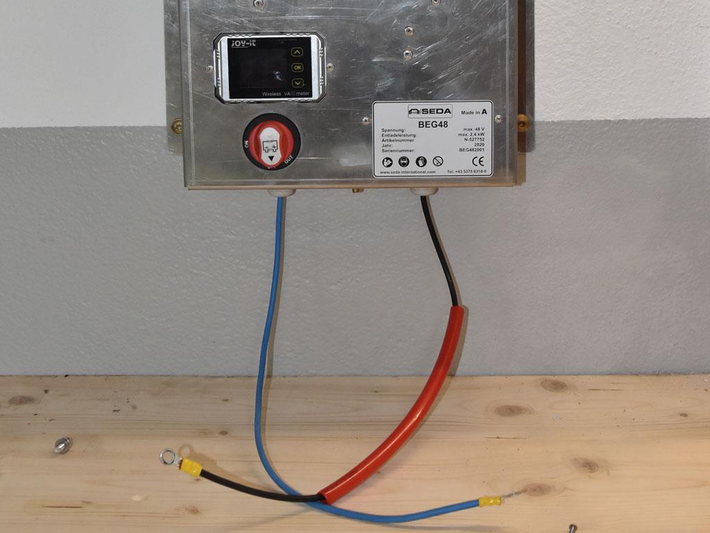 HV Baterie Entladeger.4 - SEDA HV Battery Discharger