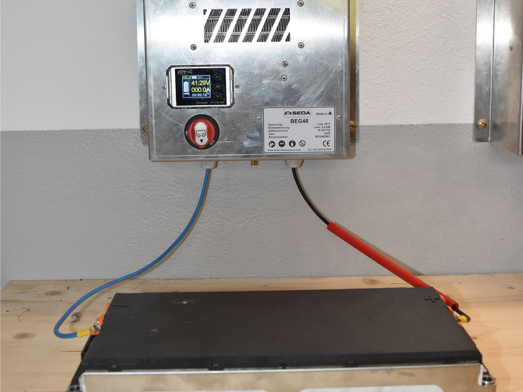HV Baterie Entladeger.5 - SEDA HV Battery Discharger