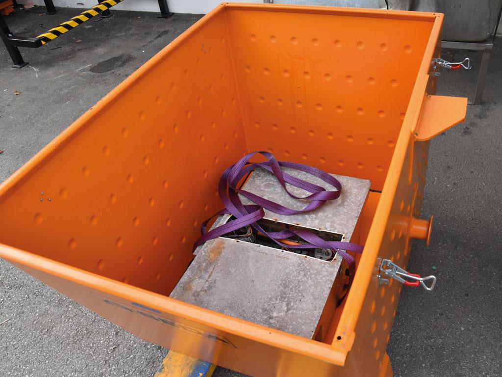 Lagerbeh.3 - SEDA HV Storage Vessel